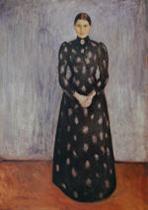 Sister Inger (Inger in Black and Violet)