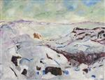 Snow Landscape from Kragero