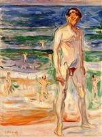 Young Man on the Beach 1908