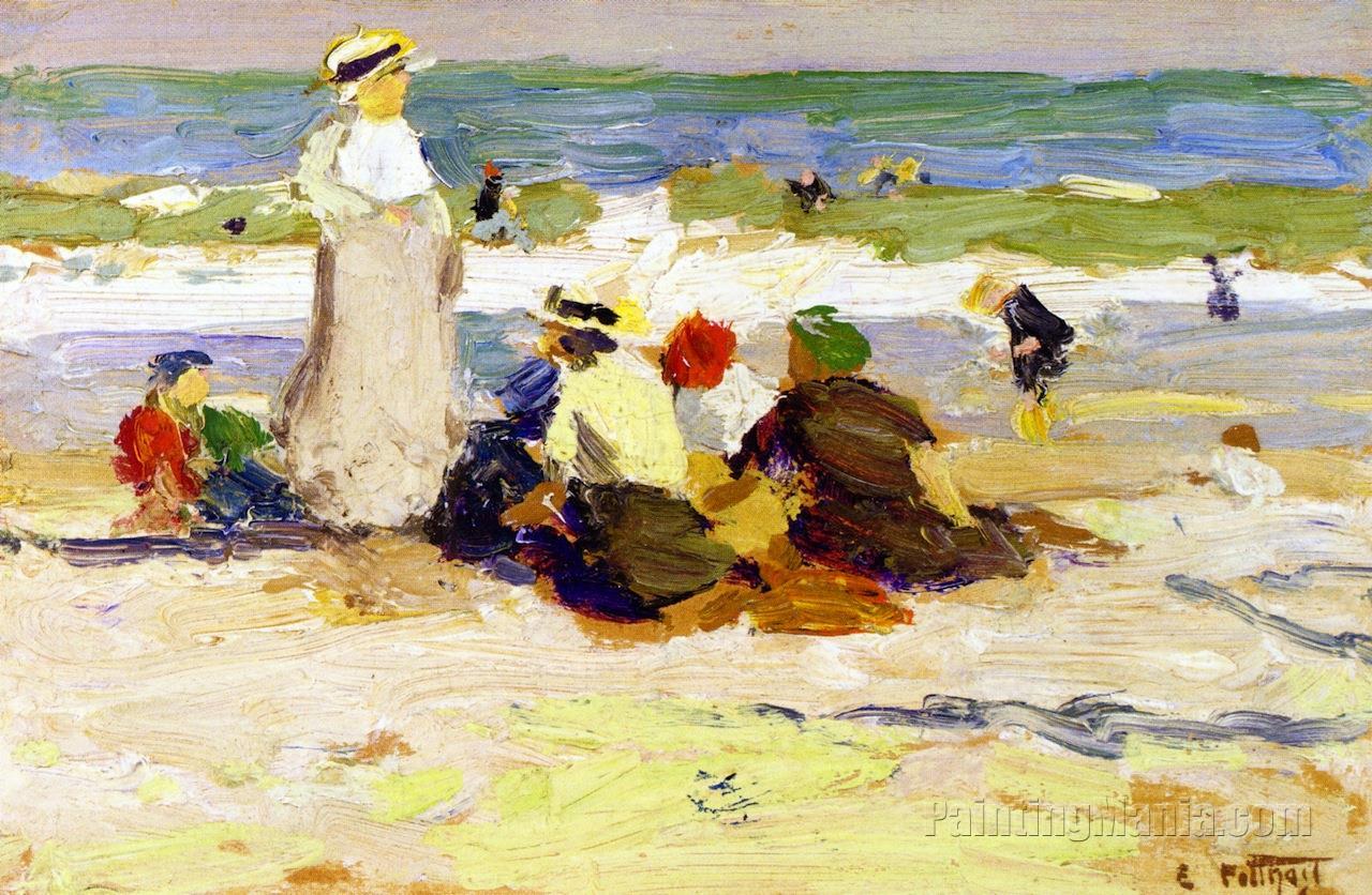 At the Beach 1915