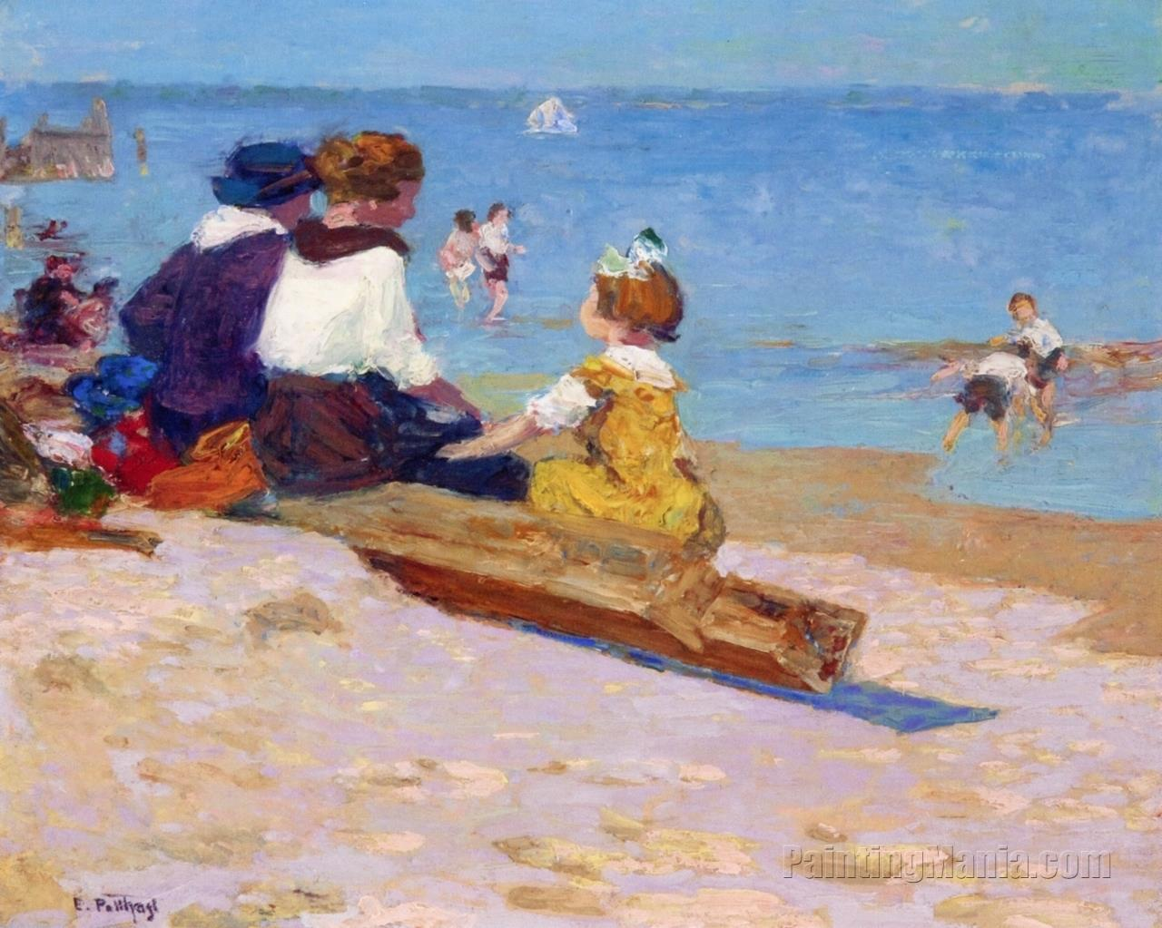 At the Beach 1920