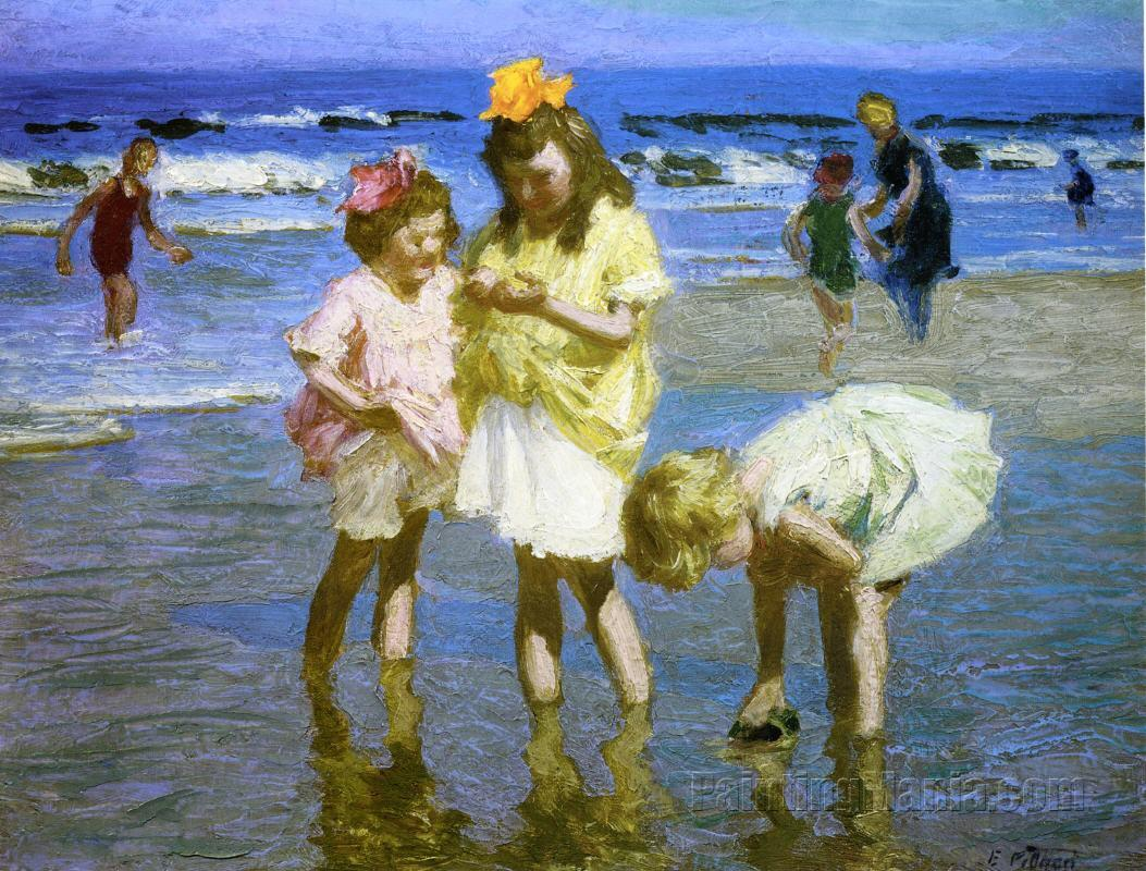 http://www.paintingmania.com/arts/edward-henry-potthast/large/three-girls-seashore-158_11665.jpg