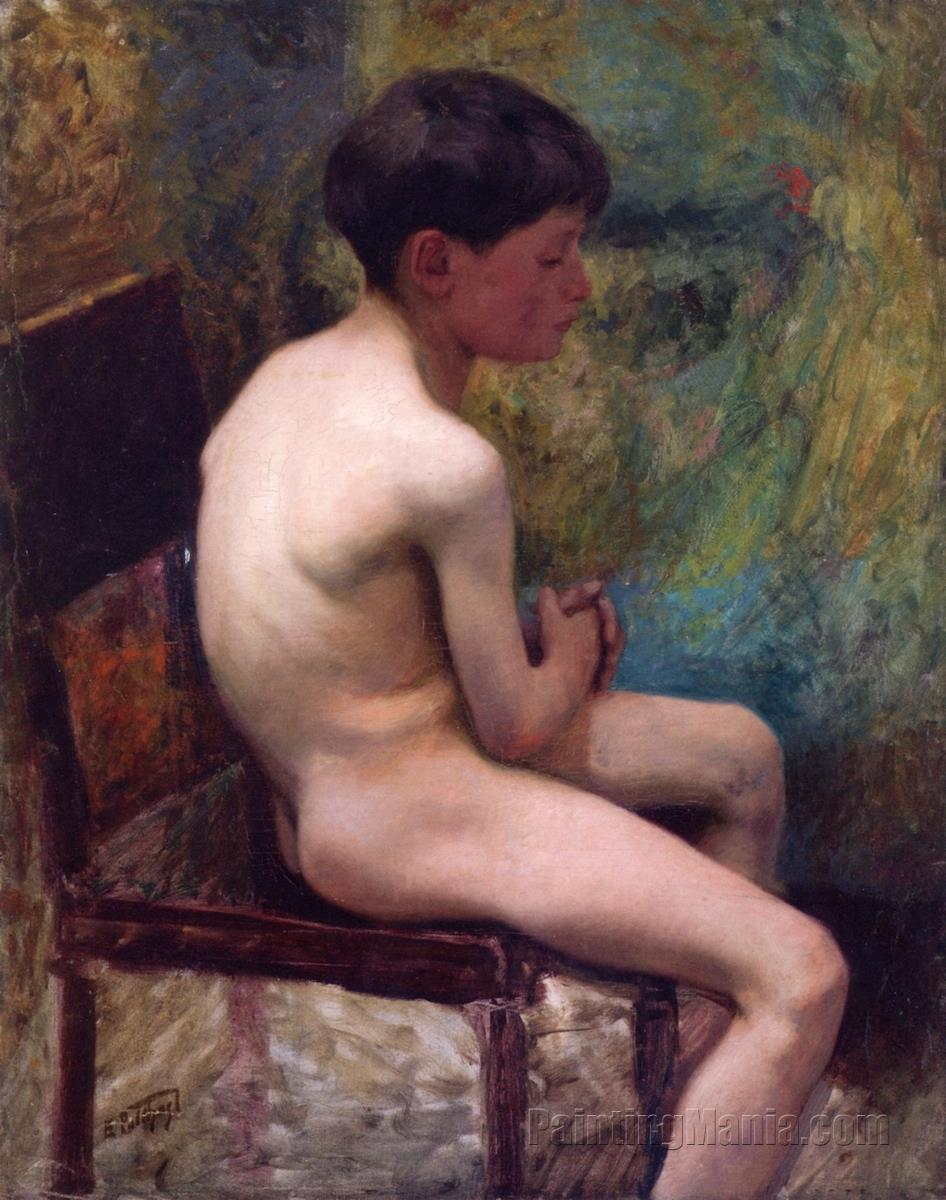 A Young Boy (Seated Boy)