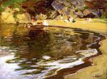 Bathers in a Cove