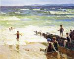 Bathers by the Shore (Bathers by the Sea)
