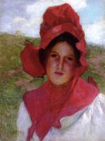 Girl in a Red Bonnet 2