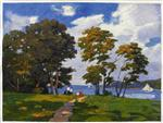 Landscape by the Shore (The Picnic)