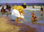 At the Seaside 1915