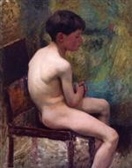 A Young Boy (Seated Boy)