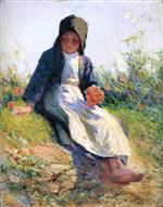 Young Breton Girl (Sunshine)