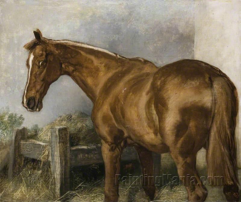 'Brilliant', A Horse at Manger