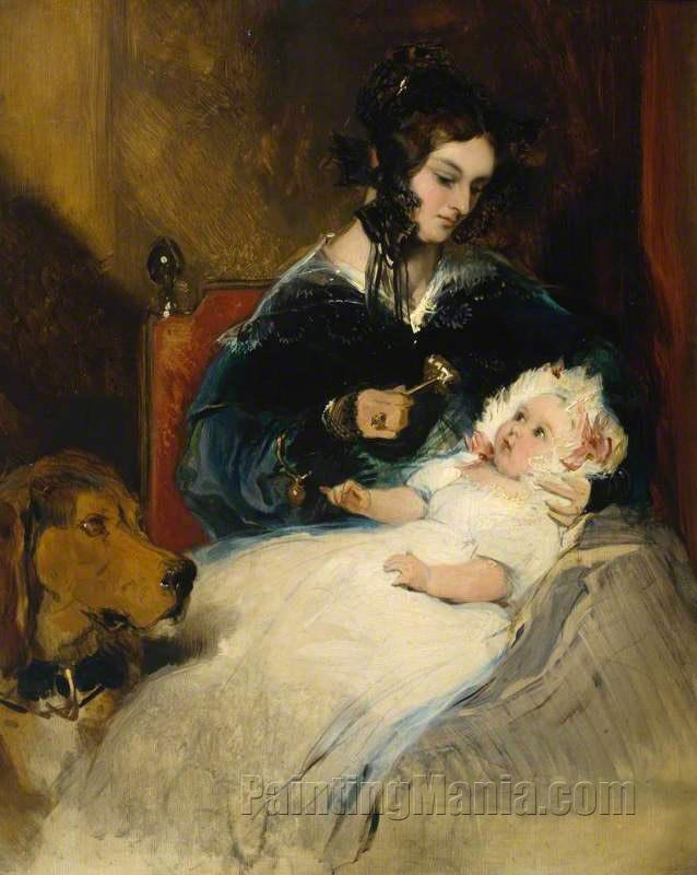 The Duchess of Abercorn and Child
