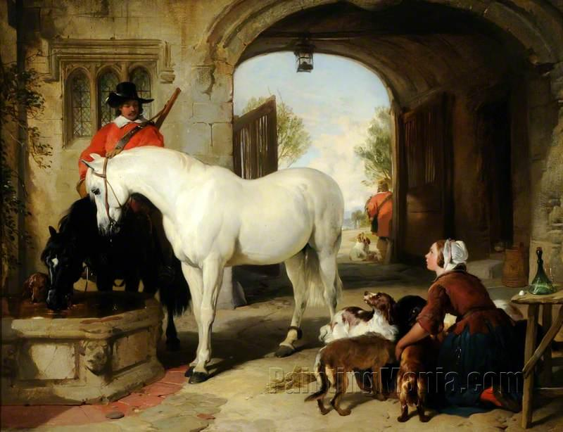 Horses Taken in to Bait