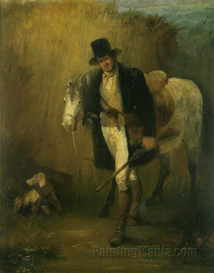 Lord Ellesmere, and His Pony, 'Jack'