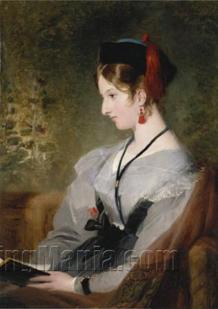 Portrait of Elizabeth Wells, Later Lady Dyke