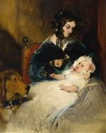The Duchess of Abercorn and Child