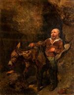 Sancho Panza and Dapple