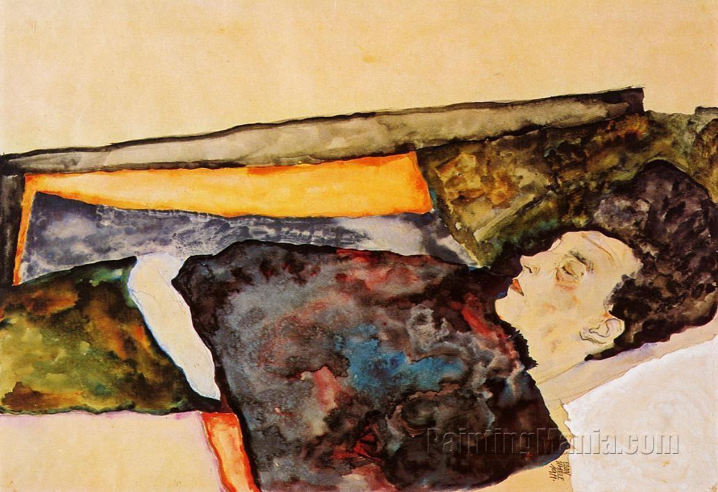The Artist's Mother, Sleeping
