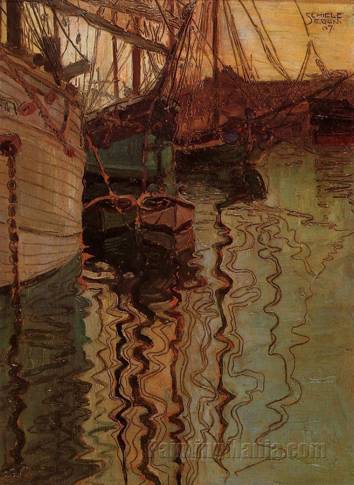 Harbor of Trieste