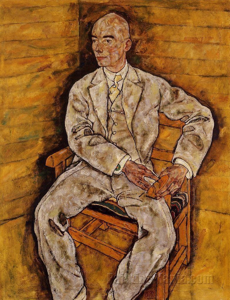 Portrait of Dr. Viktor Ritter von Bauer