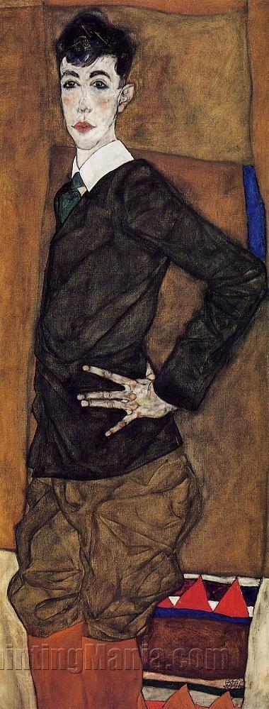 Portrait of Erich Lederer