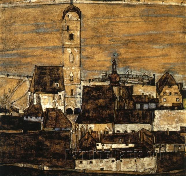 Stein on the Danube, Seen from the Kreuzberg (large version)