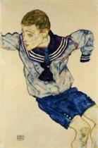 Boy in a Sailor Suit