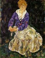 Portrait of the Artist's Wife, Seated