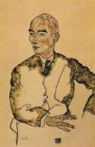 Portrait of Dr. Viktor Ritter von Bauer 1917