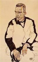 Portrait of Heinrich Benesch