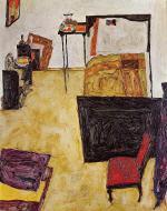 Schiele's Room in Neulengbach