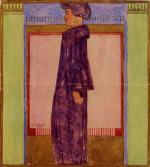 Standing Woman in Profile