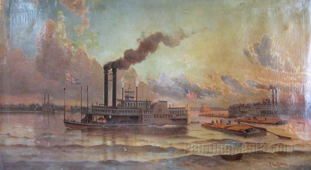 The Steam Ship Eclipse
