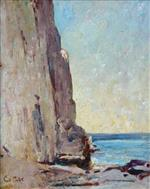 Coastal Scene with Cliff Side