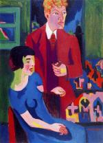 Alber Muller e sua moglie