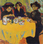 Coffee Drinking Women