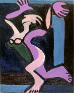 Dancing female nude, Gret Palucca