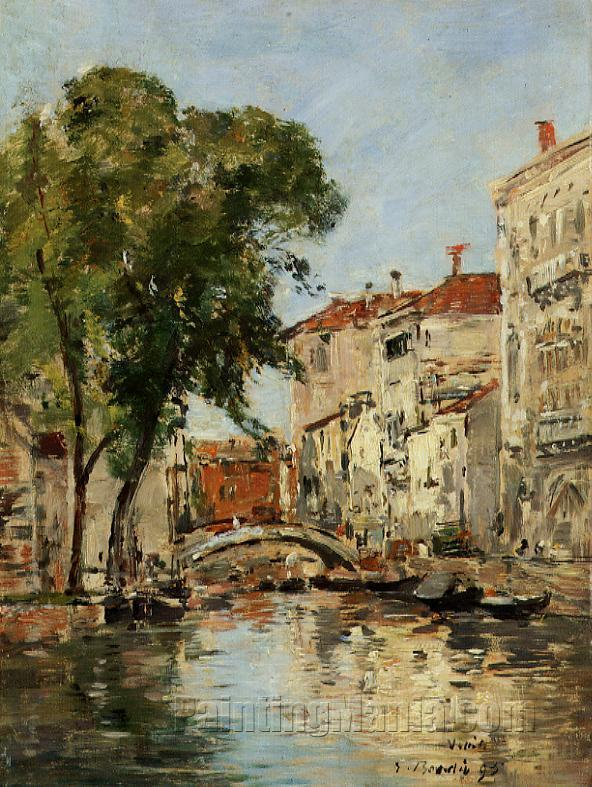 A Small Canal in Venice