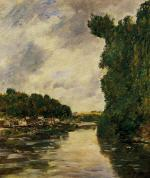 A River near d'Abbeville