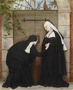 Bedrohung der Klosterschwestern