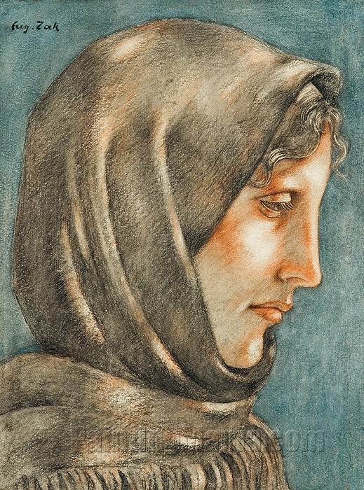 Woman in a Shawl