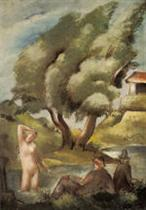 Bathing Woman (Idyll)