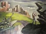Landscape with Wanderer