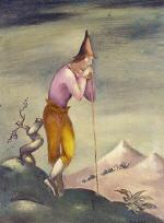 Landscape with Wanderer 1923