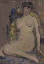 Sitted Nude