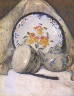 Still Life with Chinese porcelain