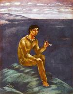 A Young Fisherman with a Pipe