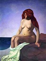 Baigneuse au rocher (Bather on the Rock) 1909