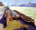 Barges, Banks of the Seine
