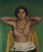 Femme aux colliers (Woman with Necklaces)